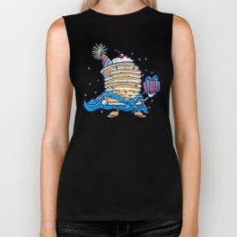 Captain Birthday Pancake Biker Tank
