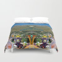 forever young Duvet Covers featuring Forever Young by CrismanArt