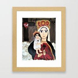 Our Lady of Refuge Framed Art Print
