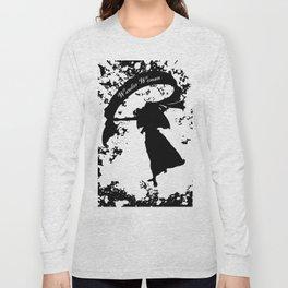 Wander Woman Splatter Long Sleeve T-shirt