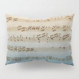 Handwritten Mozart Pillow Sham