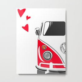 Combi LOVE LeftSide Metal Print