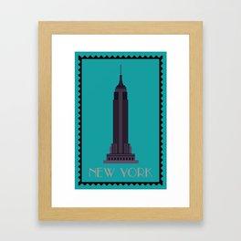 Empire State Building NY Framed Art Print