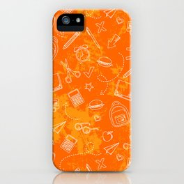 School chemical #5 iPhone Case