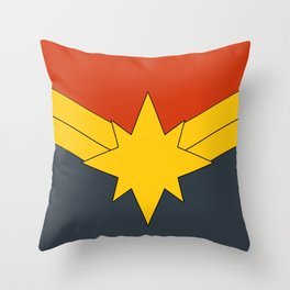 Modern Day M@rvel Throw Pillow