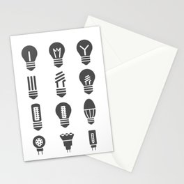 Set lamps Stationery Cards