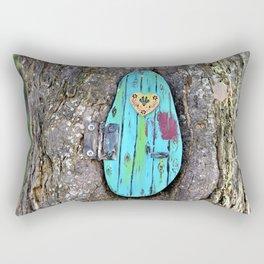 Tree door Rectangular Pillow