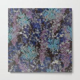 Abstract Seaweed Under Sea Metal Print