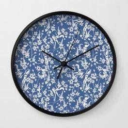 Papercut Garden - Small Wall Clock