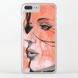 Infusion: The Break Clear iPhone Case