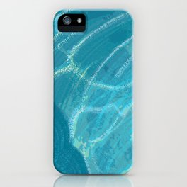 Water Words iPhone Case