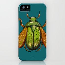 Beetle Wings iPhone Case