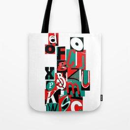 Alpha art Tote Bag