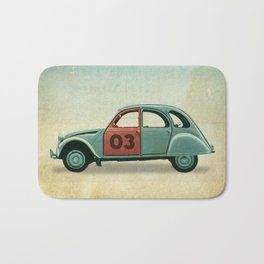 Number 03 _ Citron 2CV Bath Mat