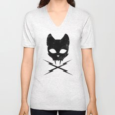 Stunt Kitty Unisex V-Neck