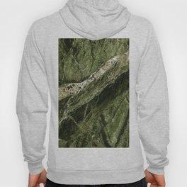 Marble Rain Forest Green Hoody