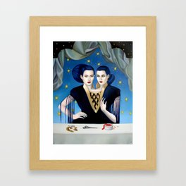 Daughters of Maternal Impression Framed Art Print