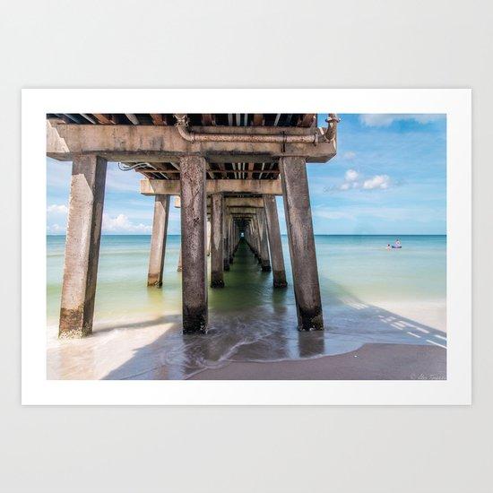 Summer Vacation Art Print