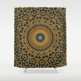 Mandala Divine Eye Shower Curtain