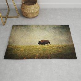 Lone Buffalo Rug
