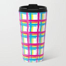 CMY GRID Travel Mug
