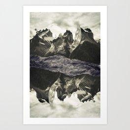 LAND 77 Art Print