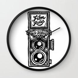 Analog Film Camera Medium Format Photography Shooter Wall Clock