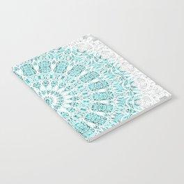A Glittering Mandala Notebook