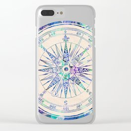 Follow Your Own Path Clear iPhone Case