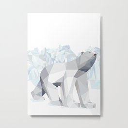 Polar bear Metal Print