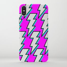Purple Lightening iPhone Case
