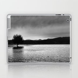 The lonely tree in the sea  Laptop & iPad Skin