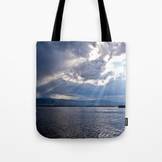 Sun Beams Tote Bag