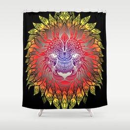 Lion, Leon, Leo, Head Art Shower Curtain