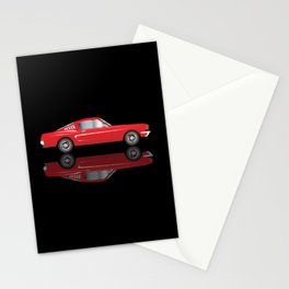 Very Fast Red Car Stationery Cards