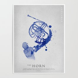 Symphony Series: The Horn Poster