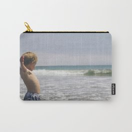 Waiting for the waves! Carry-All Pouch