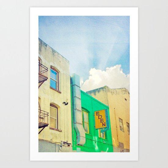 SF Tops 2 Art Print