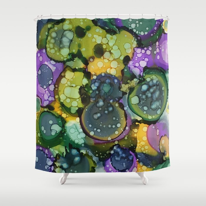 Mardi Gras Shower Curtain By Jovarner