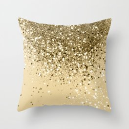 Cali Summer Vibes Lady Glitter #1 #shiny #decor #art #society6 Throw Pillow