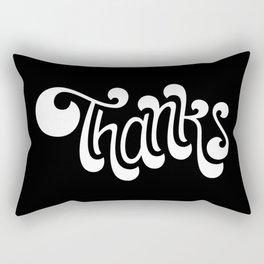 Thanks Rectangular Pillow