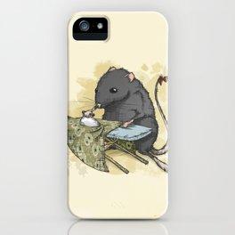 Rata Vieja iPhone Case