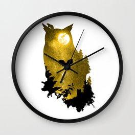 A Melancholy Song Wall Clock