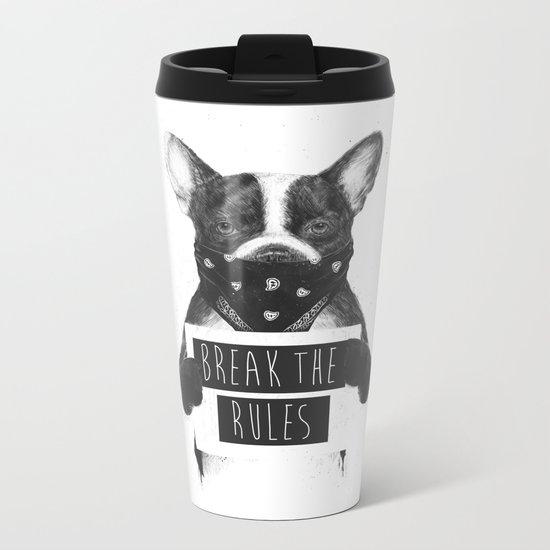 Rebel dog Metal Travel Mug