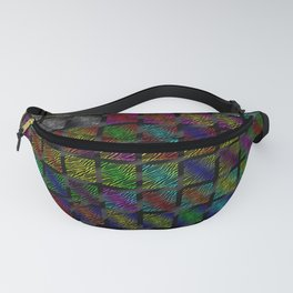 Ripped SpaceTime Stripes Collection Fanny Pack