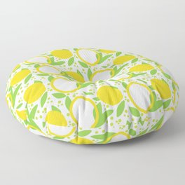 When Life Gives You Lemons Floor Pillow