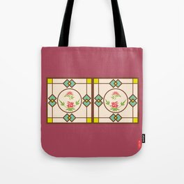 Chinese Antique - window frame Tote Bag