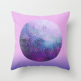 Galatic Sphere Throw Pillow
