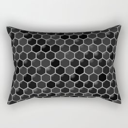 black beehive Rectangular Pillow