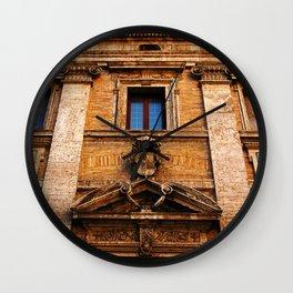 S. Maria in Trivio church in Rome Wall Clock
